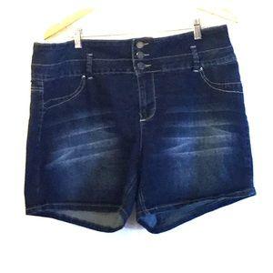 YMI high rise shorts 16